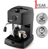 Delonghi Traditional Pump Espresso & Coffee Machine   Cappuccino System   2 Filters