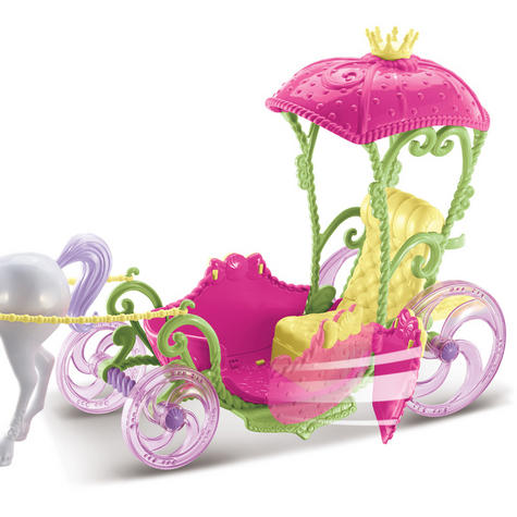 Barbie Dreamtopia Sweetville Kingdom Carriage | Princess Doll+Unicorn Playset | +3 Year Thumbnail 4