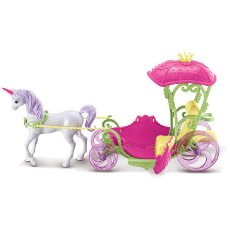 Barbie Dreamtopia Sweetville Kingdom Carriage | Princess Doll+Unicorn Playset | +3 Year Thumbnail 5