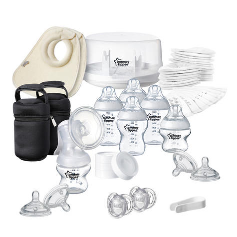 Tommee Tippee Closer to Nature Microwave Steriliser+Manual Breast Pump | Baby Care Thumbnail 2