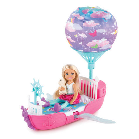 Barbie Dreamtopia Magical Dreamboat With Chelsea Doll | Baby/Toddler's Playset | +3 Years Thumbnail 2