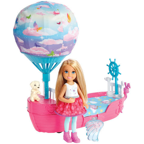 Barbie Dreamtopia Magical Dreamboat With Chelsea Doll | Baby/Toddler's Playset | +3 Years Thumbnail 3