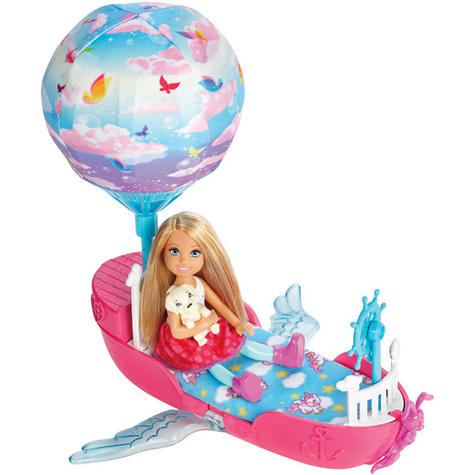 Barbie Dreamtopia Magical Dreamboat With Chelsea Doll | Baby/Toddler's Playset | +3 Years Thumbnail 4