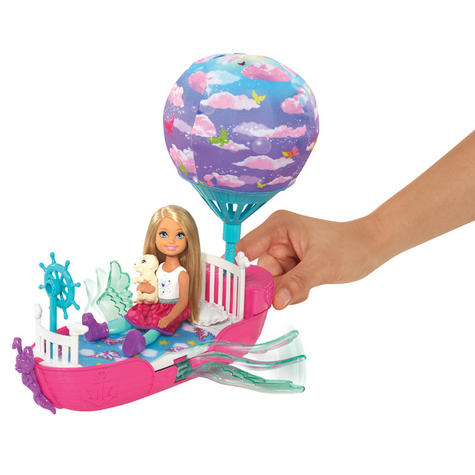 Barbie Dreamtopia Magical Dreamboat With Chelsea Doll | Baby/Toddler's Playset | +3 Years Thumbnail 5