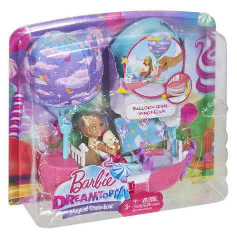 Barbie Dreamtopia Magical Dreamboat With Chelsea Doll | Baby/Toddler's Playset | +3 Years Thumbnail 8