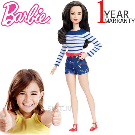 Barbie Fashionistas Petite Nice in Nautical | Baby/Toddler's Funtime/Playtime Doll | +3 Years Thumbnail 1