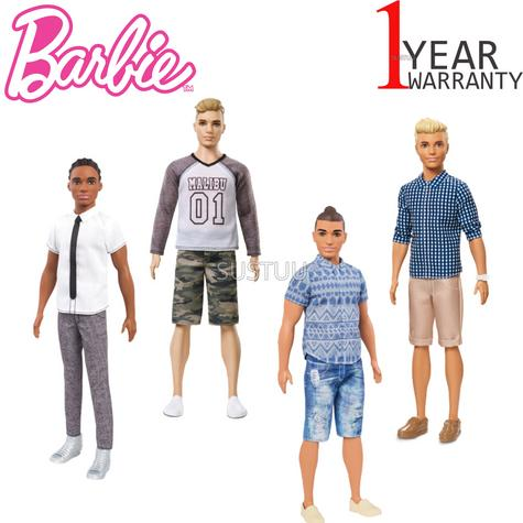 Barbie Fashionistas Ken | BabyKid//Toddler's Funtime/Playtime Favourite Doll | +3 Years Thumbnail 1