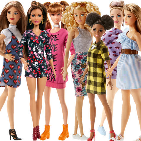 Barbie Fashionistas Assortment | Baby/Kid/Toddler's Funtime/Playtime Doll | +3 Years Thumbnail 2