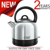 Russell Hobbs 23900 Dome Kettle | 1.5 Litre | 3000 W | 360° Base | Stainless Steel | NEW
