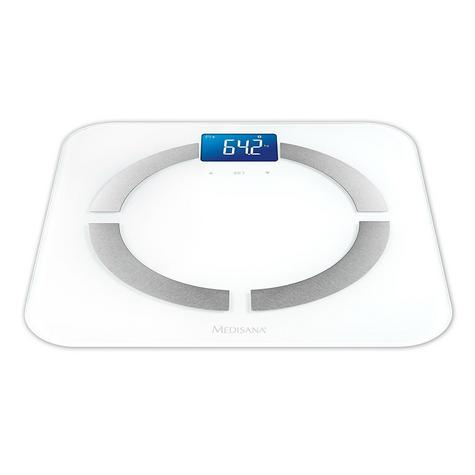 Medisana BS430 Body Analysis LCD Scale|Accurate Measure|iOS Android Compatible Thumbnail 2