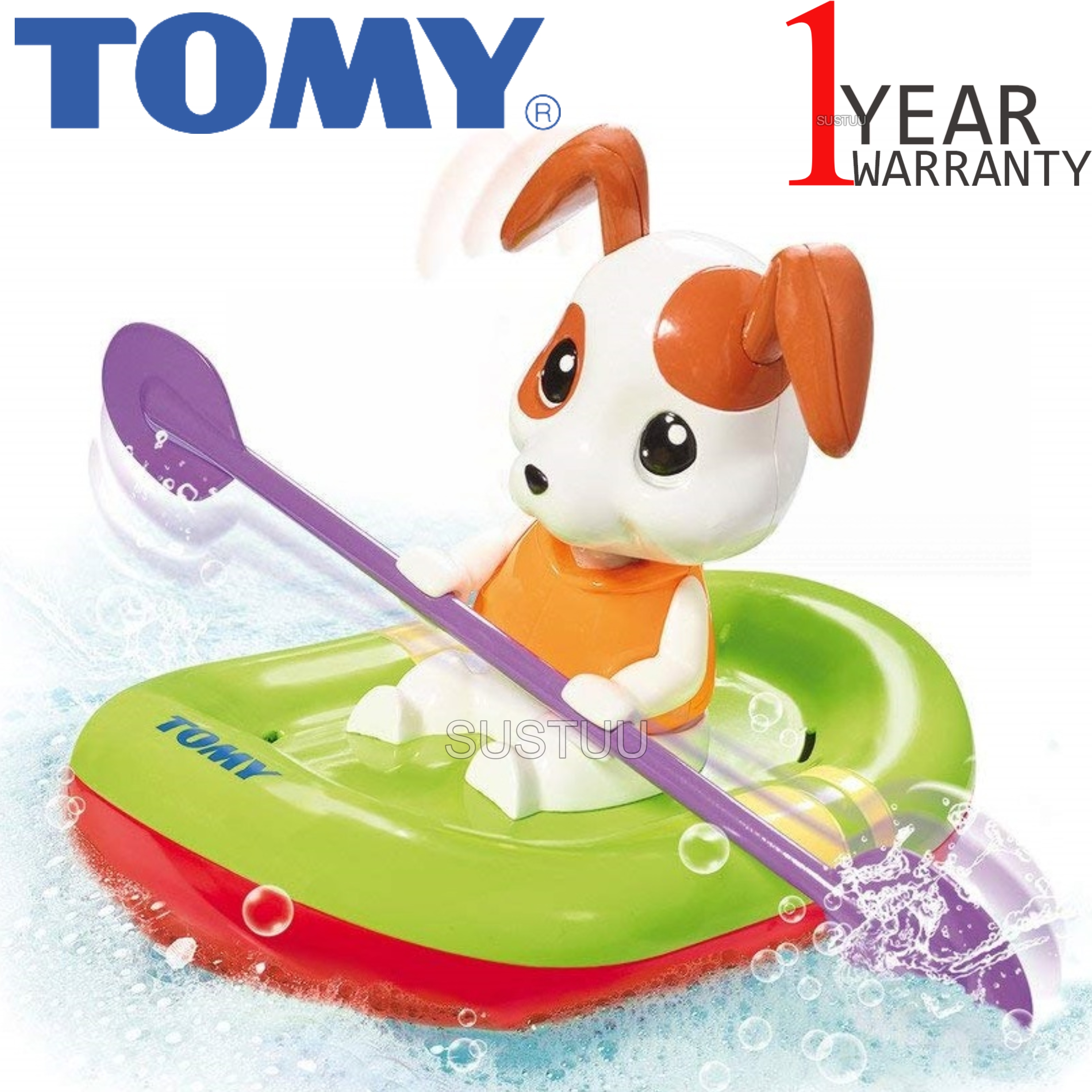 Tomy Bath Toy Paddling Puppy | Preschool Childrens Bath/Play Time Fun Activity Toy