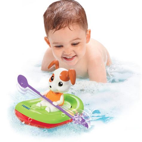 Tomy Bath Toy Paddling Puppy | Preschool Childrens Bath/Play Time Fun Activity Toy Thumbnail 4
