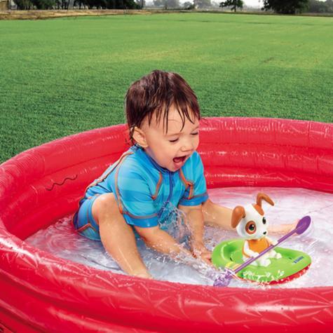 Tomy Bath Toy Paddling Puppy | Preschool Childrens Bath/Play Time Fun Activity Toy Thumbnail 6