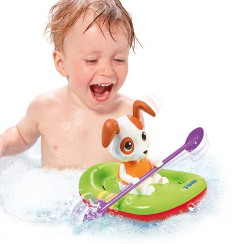 Tomy Bath Toy Paddling Puppy | Preschool Childrens Bath/Play Time Fun Activity Toy Thumbnail 7