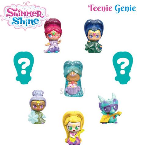 Shimmer and Shine Teenie Genie 8Pk | Kid/Baby's Fun Activity Playset | Giftware | +3 Years Thumbnail 1