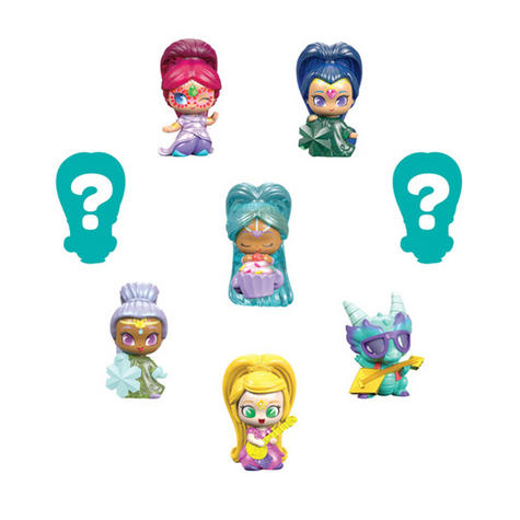 Shimmer and Shine Teenie Genie 8Pk | Kid/Baby's Fun Activity Playset | Giftware | +3 Years Thumbnail 3