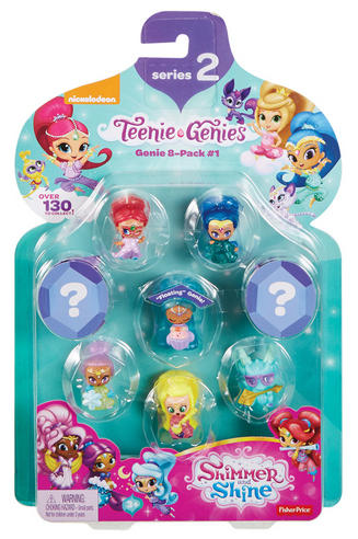 Shimmer and Shine Teenie Genie 8Pk | Kid/Baby's Fun Activity Playset | Giftware | +3 Years Thumbnail 4