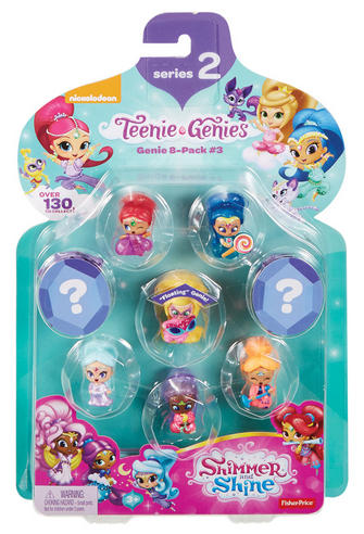 Shimmer and Shine Teenie Genie 8Pk | Kid/Baby's Fun Activity Playset | Giftware | +3 Years Thumbnail 6