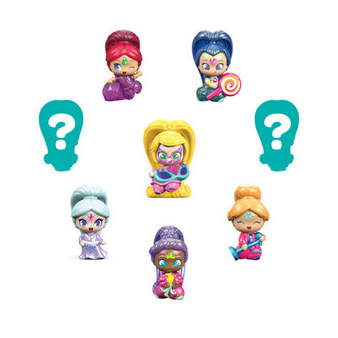 Shimmer and Shine Teenie Genie 8Pk | Kid/Baby's Fun Activity Playset | Giftware | +3 Years Thumbnail 7