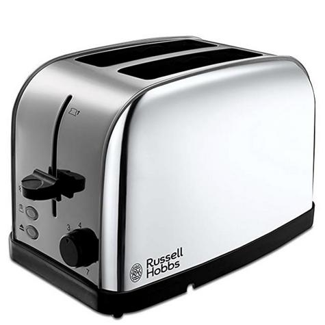 Russell Hobbs 18784 Dorchester 2-Slice Toaster | Reheat Function | Stainless Steel Thumbnail 2