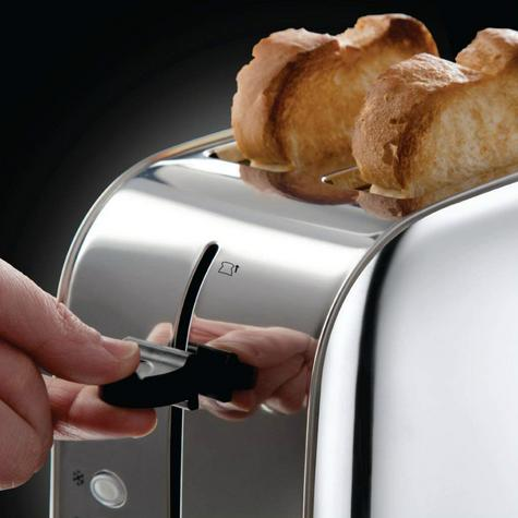 Russell Hobbs 18784 Dorchester 2-Slice Toaster | Reheat Function | Stainless Steel Thumbnail 4