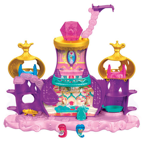 Shimmer and Shine Floating Genie Palace | Kid/Baby's Fun Activity Playset | Giftware | +3 Years Thumbnail 2