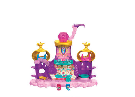 Shimmer and Shine Floating Genie Palace | Kid/Baby's Fun Activity Playset | Giftware | +3 Years Thumbnail 5