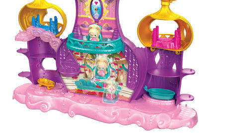 Shimmer and Shine Floating Genie Palace | Kid/Baby's Fun Activity Playset | Giftware | +3 Years Thumbnail 6