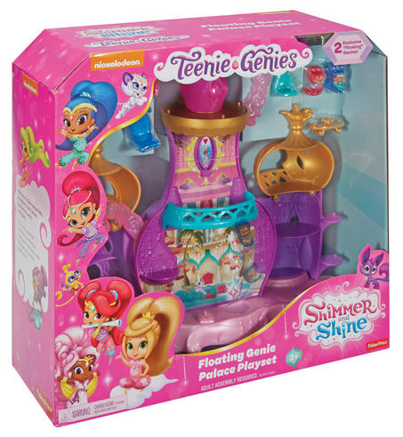Shimmer and Shine Floating Genie Palace | Kid/Baby's Fun Activity Playset | Giftware | +3 Years Thumbnail 8