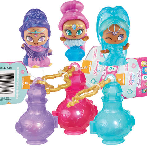 Shimmer and Shine Teenie Genie Bottle Surprise | Kid/ Baby's Fun Activity Playset | Giftware | +3 Years Thumbnail 2