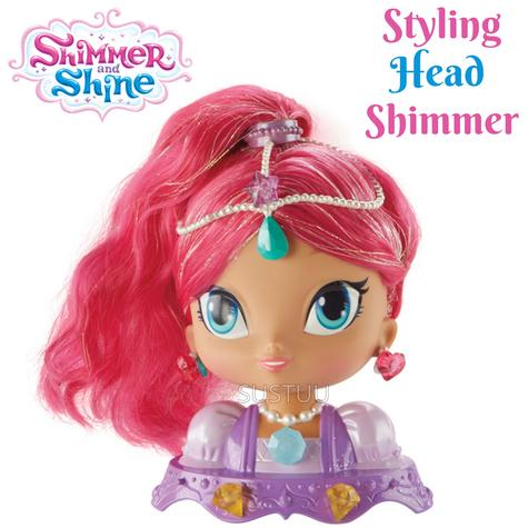 Shimmer and Shine Styling Head Shimmer | Kid/Baby's Fun Activity Playset | Giftware | +3 Years Thumbnail 1