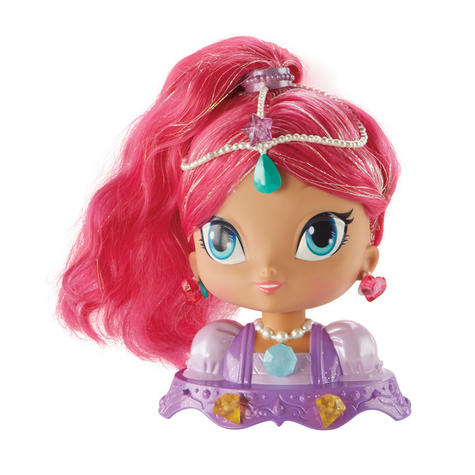 Shimmer and Shine Styling Head Shimmer | Kid/Baby's Fun Activity Playset | Giftware | +3 Years Thumbnail 2