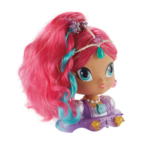 Shimmer and Shine Styling Head Shimmer | Kid/Baby's Fun Activity Playset | Giftware | +3 Years Thumbnail 3