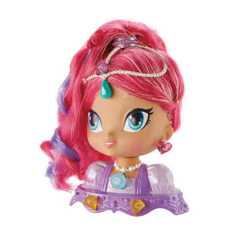 Shimmer and Shine Styling Head Shimmer | Kid/Baby's Fun Activity Playset | Giftware | +3 Years Thumbnail 4