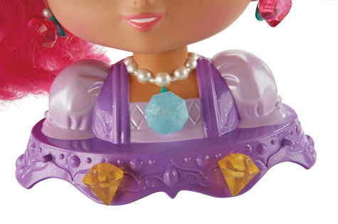 Shimmer and Shine Styling Head Shimmer | Kid/Baby's Fun Activity Playset | Giftware | +3 Years Thumbnail 6