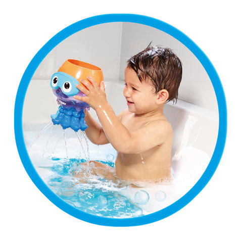 Tomy Spin & Splash Jellyfish | Preschool Childrens Bath/Paddling Pool Time Fun Toy Thumbnail 6