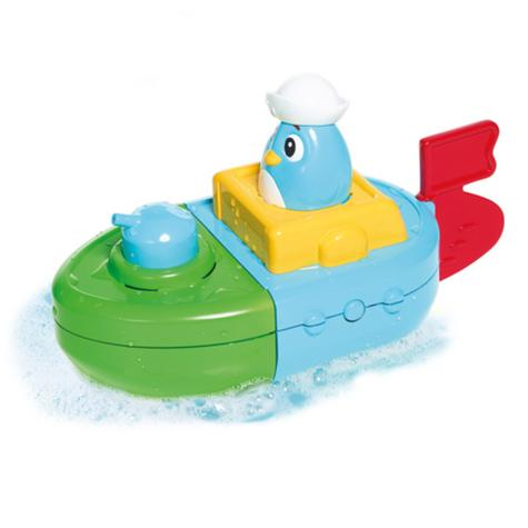 Tomy Mix & Match Motor Boat | Preschool Childrens Bath Time Toy With Spinning Drum Thumbnail 4