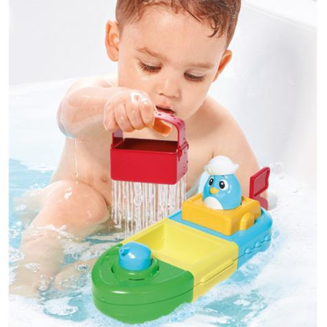 Tomy Mix & Match Motor Boat | Preschool Childrens Bath Time Toy With Spinning Drum Thumbnail 5
