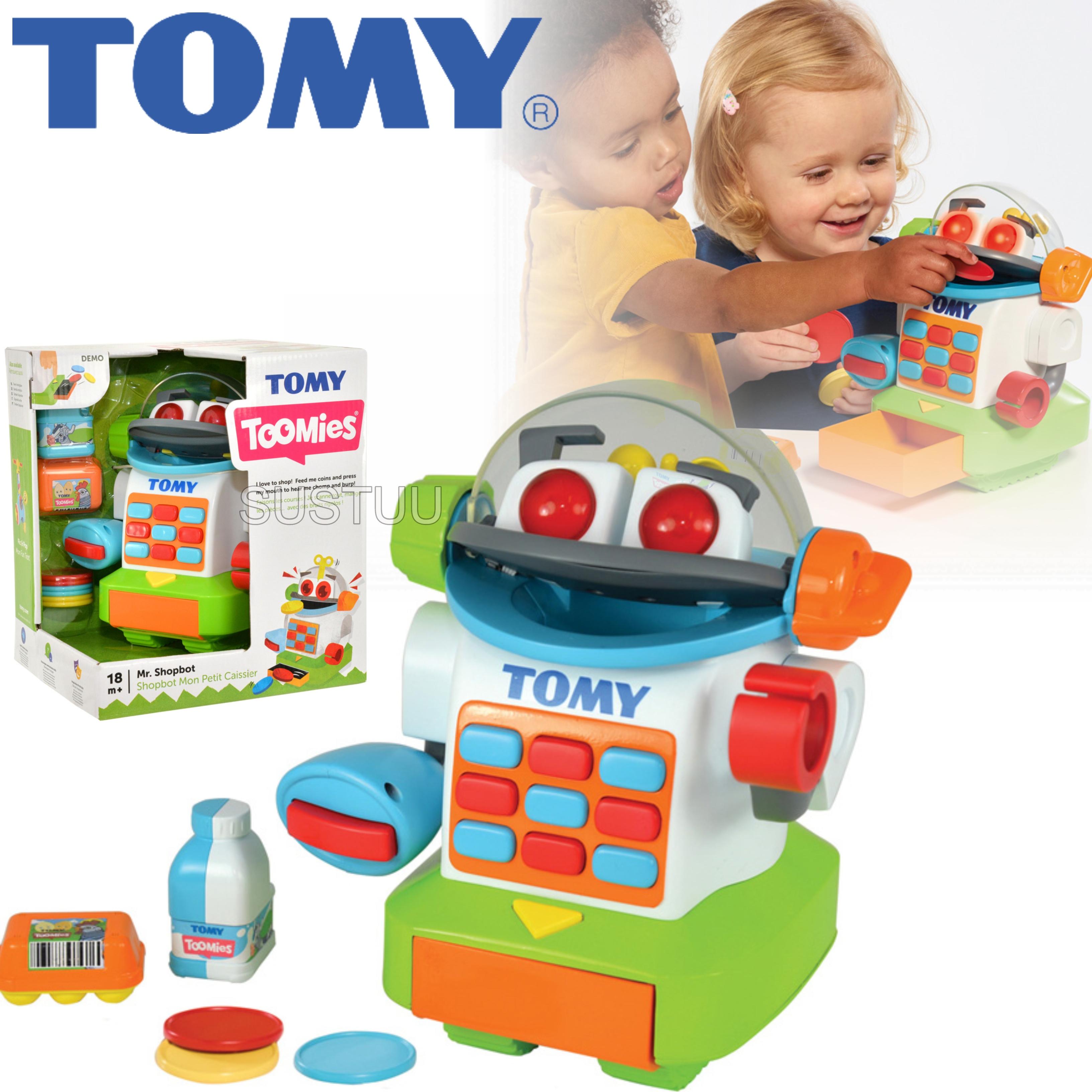 Tomy Mr. Shopbot?Preschool Kids Learing Activity Fun Toy | Coins+Bottle+Egg Carton