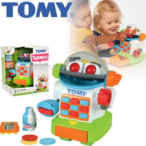 Tomy Mr. Shopbot?Preschool Kids Learing Activity Fun Toy | Coins+Bottle+Egg Carton Thumbnail 1