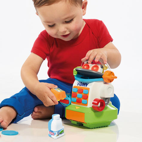Tomy Mr. Shopbot?Preschool Kids Learing Activity Fun Toy | Coins+Bottle+Egg Carton Thumbnail 4