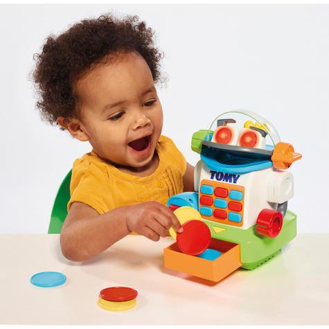Tomy Mr. Shopbot?Preschool Kids Learing Activity Fun Toy | Coins+Bottle+Egg Carton Thumbnail 5