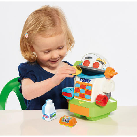 Tomy Mr. Shopbot?Preschool Kids Learing Activity Fun Toy | Coins+Bottle+Egg Carton Thumbnail 6