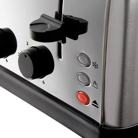 Russell Hobbs 18790 4-Slice Futura Toaster | Frozen Bread Function | Stainless Steel Thumbnail 6