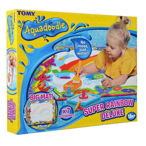 Tomy Aquadoodle-Super Rainbow Deluxe  Childrens Mess Free Drawing Fun With Pen   New Thumbnail 8