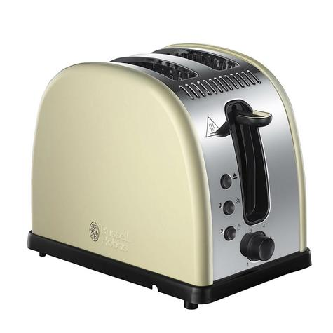 Russell Hobbs RU-21292 Legacy 2-Slice Toaster | Reheat Function | Wide Slot Cream Thumbnail 2