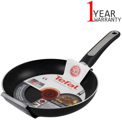 Tefal 24 cm Harmony Pro Compact Fry Pan | Titanium Coating | Thermospot Technology Thumbnail 1