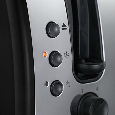 Russell Hobbs RU-21293 Legacy 2-Slice Toaster | Reheat Function | Wide Slot Black Thumbnail 5