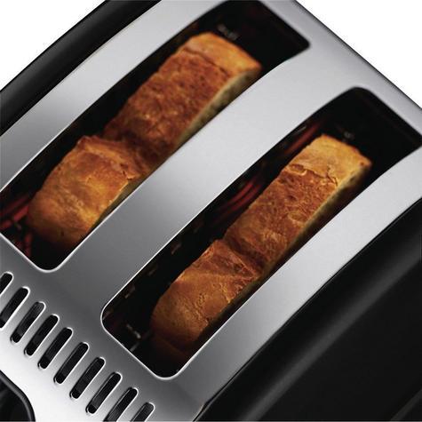Russell Hobbs RU-21293 Legacy 2-Slice Toaster | Reheat Function | Wide Slot Black Thumbnail 6