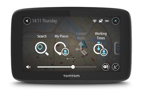TomTom Pro 5350 Truck EU GPS | 5'' SatNav | Lifetime European Map | Tracking | WEBFLEET Thumbnail 2